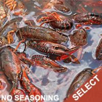 Live Crawfish Washed (SELECT)