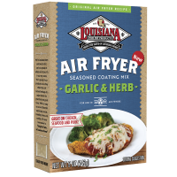 Louisiana Fish Fry Air Fryer Garlic & Herb Coating Mix 5 oz