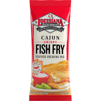 Louisiana Fish Fry Crispy Cajun Fish Fry 10 oz Bag