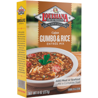Louisiana Fish Fry Cajun Gumbo & Rice Mix 8 oz