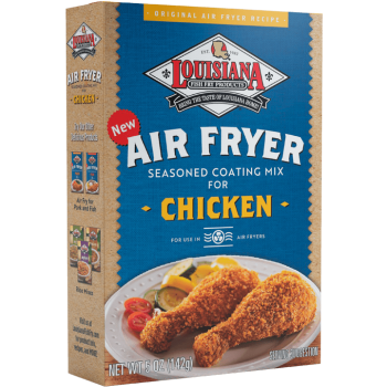 Louisiana Fish Fry Chicken Air Fryer Seasoned Coating Mix