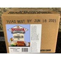 Louisiana Fish Fry - Cobbler Mix 10lbs