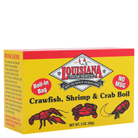 Louisiana Fish Fry Boil-n-a-Bag 3 oz. Crawfish, Shrimp & Crab Boil