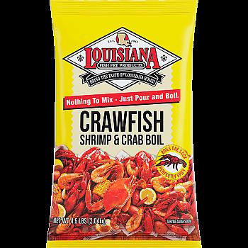Louisiana Fish Fry Crawfish Crab and Shrimp Boil