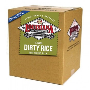 Louisiana Fish Fry Dirty Rice Mix 10 lb