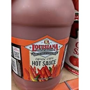 Louisiana Fish Fry -  Hot Sauce 1 Gallon