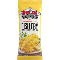 Louisiana Fish Fry New Orleans Style Lemon Fish Fry 10 oz