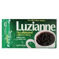 Luzianne Decaf Medium Roast Coffee & Chicory 13 oz