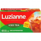 Luzianne Decaf Tea 48 cnt family