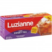 Luzianne Family Size Iced Sweet Tea Bags 22 count