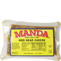 Manda's Hog Head Cheese Mild 8 oz
