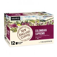 New England Coffee Colombian Supremo Single Serve