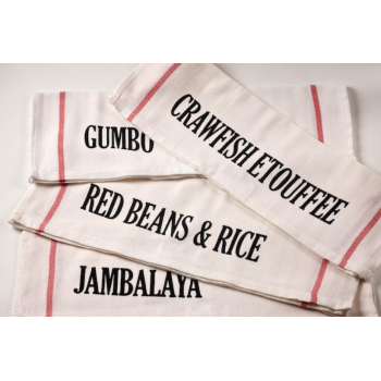NOLA Dishes Set of 4 Kitchen Towels