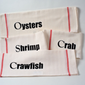 NOLA Seafood Set of 4 Kitchen Towels