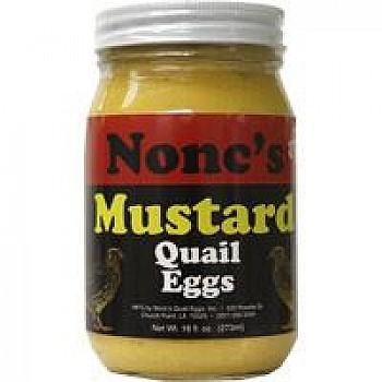 Nonc's Mustard Quail Eggs