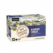 New England Coffee Blueberry Cobbler Single Serve 12 ct Box