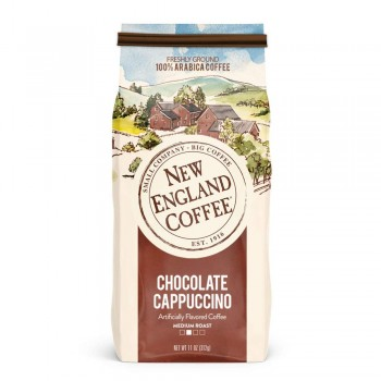 New England Coffee Chocolate Cappuccino Ground 11 oz