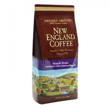 New England Coffee French Roast Ground 10 oz