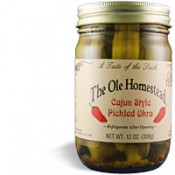 Ole Homestead Cajun Style Pickled Okra