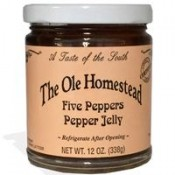 Ole Homestead Five Peppers Pepper Jelly