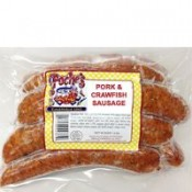 Poche's Pork & Crawfish Sausage