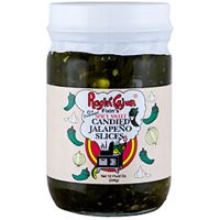 Ragin Cajun Candied Jalapeno Slices 12 oz
