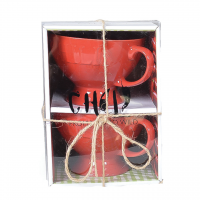 Red Chili Bowls (Set of 2)