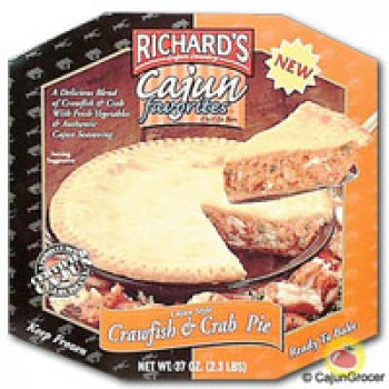 Richards Crawfish & Crab Pie