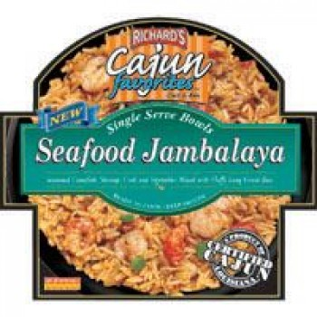 Richards Seafood Jambalaya (single serving)