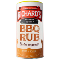 Richard's BBQ Rub 16 oz