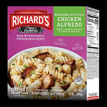 Richard's Chicken Alfredo single serve bowl
