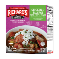 Richard's Chicken and Sausage Gumbo single serve