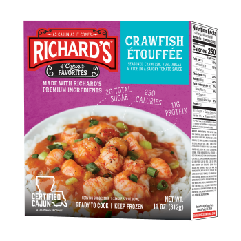 Richards Crawfish Etouffee (single serve)