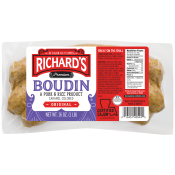 Richard's Pork Boudin Regular 16 oz