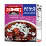 Richard's Red Beans and Sausage single serve