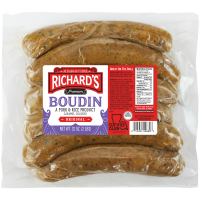 Richard's Regular Boudin 32 oz Family Pack