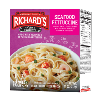 Richard's Seafood Fettuccine single serve