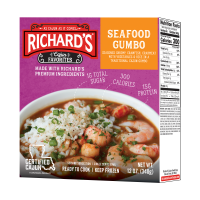 Richard's Seafood Gumbo single serving