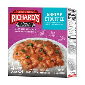 Richards Shrimp Etouffee (single serving)