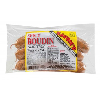 Savoies Spicy Boudin