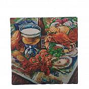Seafood Boil Trivet Plate