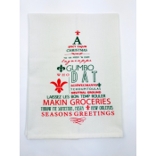 Spicy Cajun Christmas Kitchen Towel