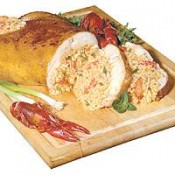 Stuffed Chicken with Crawfish