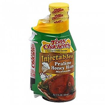 Tony Chachere's Praline Honey Ham With Injector 17 oz