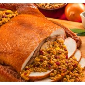 Turducken with Seafood Jambalaya 14 lbs