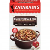 Zatarain's Black-Eyed Peas & Rice 7 oz