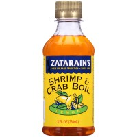Zatarain's Lemon Liquid Crab and Shrimp Boil 8 oz Bottle