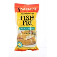 Zatarain's New Orleans Style Seasoned Fish Fri Mix 10 oz Bag