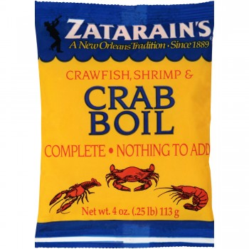 Zatarain's Preseasoned Crab Boil 4 oz