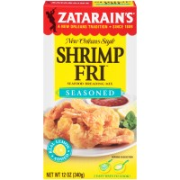 Zatarain's Seasoned Shrimp Fri 12 oz